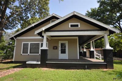 Tyler Single Family Home For Sale: 714 E Earle Street