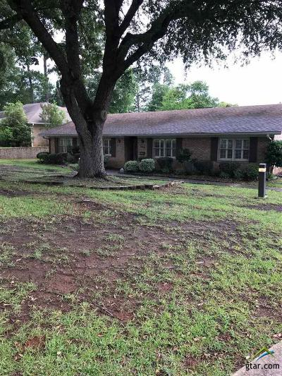 Longview Single Family Home For Sale: 504 W Terrace