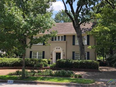 Tyler Single Family Home For Sale: 1608 S Chilton Ave.