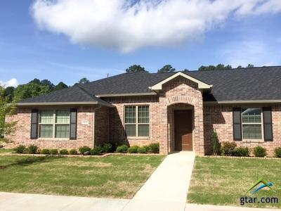 Tyler Condo/Townhouse For Sale: 5106 Shiloh Ridge