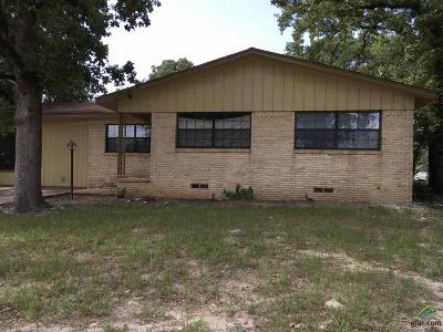 Tyler Single Family Home For Sale: 3205 Benbrook Dr.