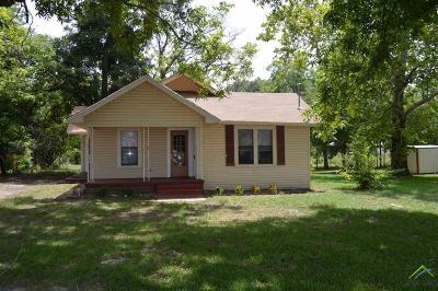 Winnsboro TX Single Family Home For Sale: $69,900