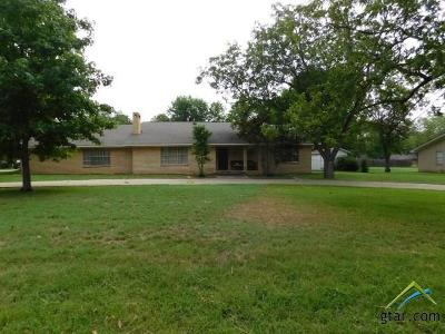 Pittsburg TX Single Family Home For Sale: $209,000