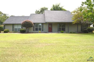 Pittsburg TX Single Family Home For Sale: $192,500