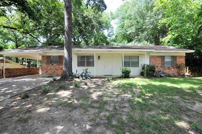 Tyler TX Single Family Home For Sale: $109,900