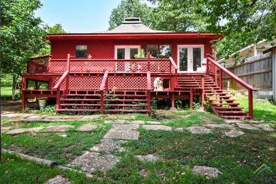 Frankston TX Single Family Home For Sale: $168,900