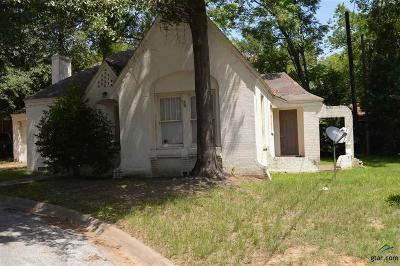Tyler TX Single Family Home For Sale: $68,350