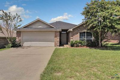 Tyler TX Single Family Home For Sale: $180,000