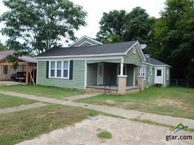 Gilmer Single Family Home For Sale: 408 Cass