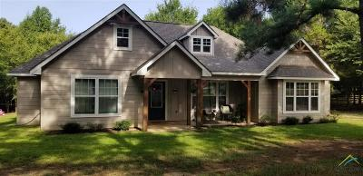 Gilmer Single Family Home For Sale: 5158 Lookout Lane