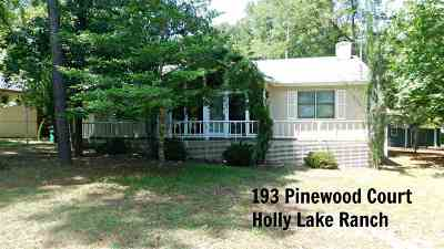 Holly Lake Ranch Single Family Home For Sale: 193 Pinewood Court