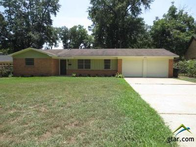 Tyler TX Single Family Home For Sale: $155,000