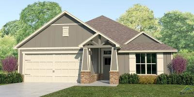 Tyler Single Family Home For Sale: 2926 Meadow Brook Trails