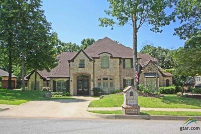 Tyler Single Family Home For Sale: 2050 Stonegate Valley Drive