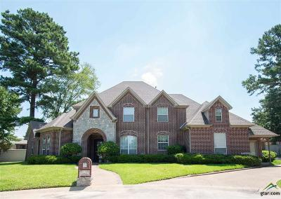 Tyler Single Family Home For Sale: 614 Court Crest