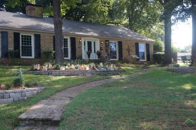 Tyler Single Family Home For Sale: 3000 Jan Ave.