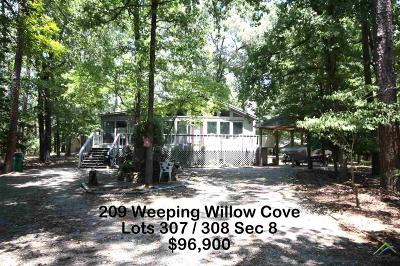 Holly Lake Ranch Single Family Home For Sale: 209 Weeping Willow Cove