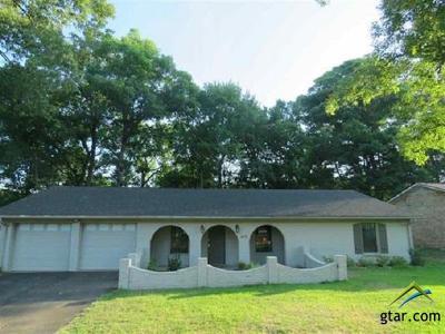 Longview Single Family Home For Sale: 615 Green Oak