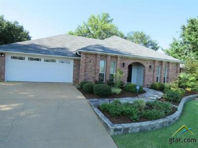 Longview Single Family Home For Sale: 1808 Melissa
