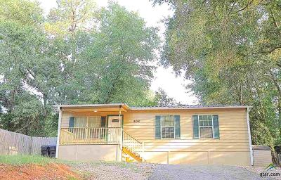 Longview Single Family Home For Sale: 302 Norton Dr