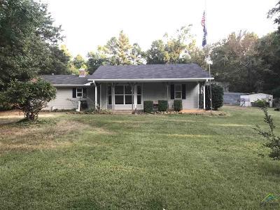 Gilmer Single Family Home For Sale: 2360 Elk