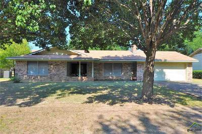 Upshur County Single Family Home For Sale: 1010 Chevy Chase