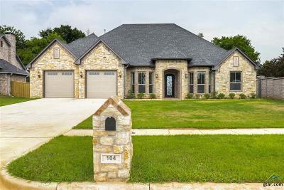 Bullard Single Family Home For Sale: 104 Heritage Way