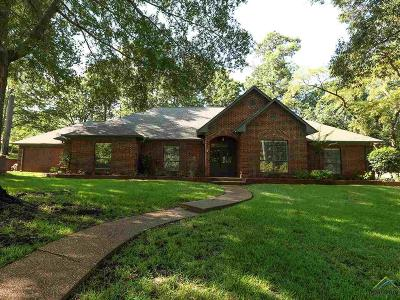 Tyler Single Family Home For Sale: 1401 Tall Timbers Drive
