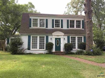 Kilgore Single Family Home For Sale: 1225 Oak Dr.