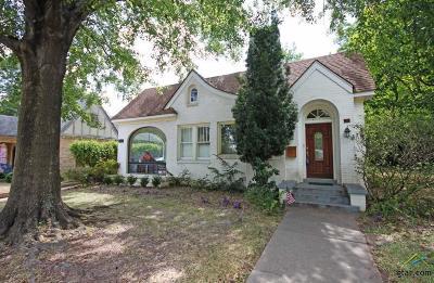 Tyler Single Family Home For Sale: 713 S Donnybrook