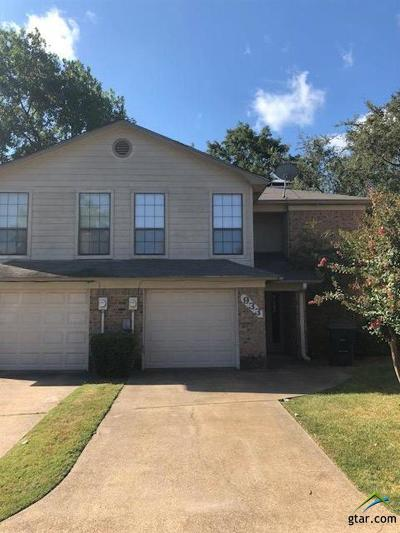 Tyler Condo/Townhouse For Sale: 933 Creekside