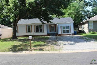 Kilgore Single Family Home For Sale: 514 Layton St