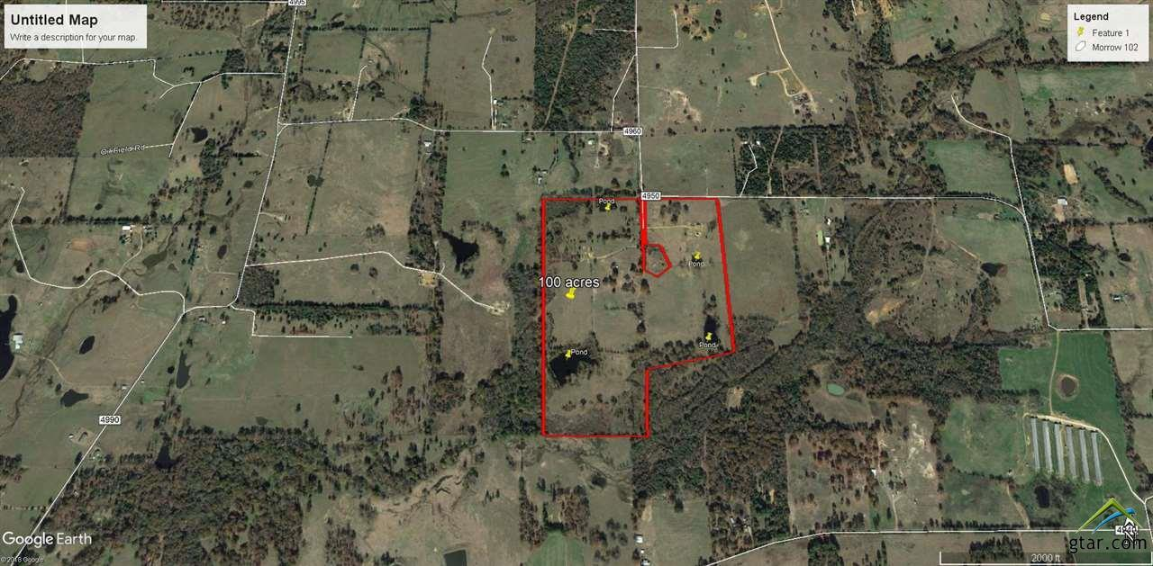 Map Of Quitman Tx.Acreage In Quitman For 350 000