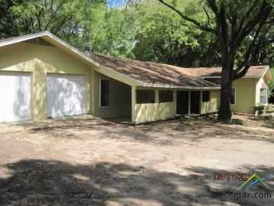 Tyler Single Family Home For Sale: 16729 C R 15