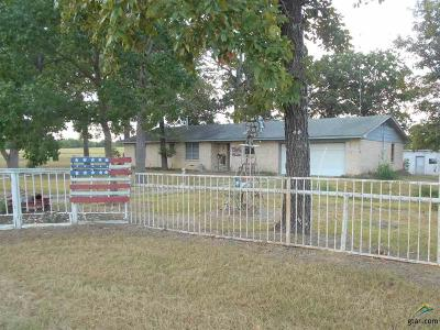 Quitman TX Single Family Home For Sale: $149,900