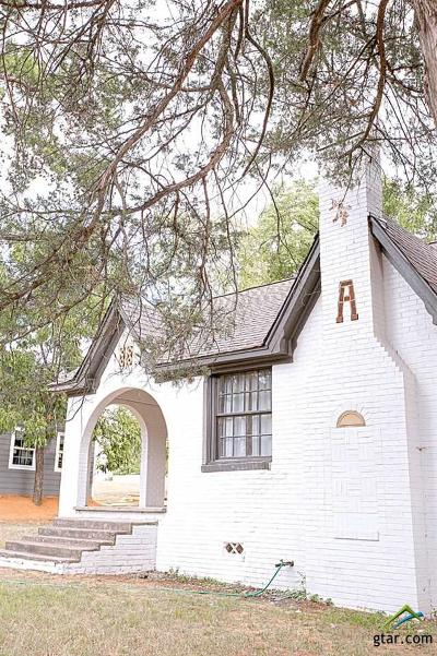 Tyler Single Family Home For Sale: 606 Harmony Street