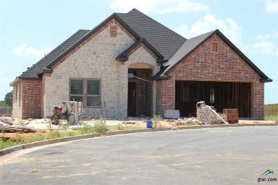 Tyler Single Family Home For Sale: 2909 Salado Creek