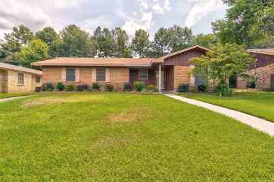 Tyler Single Family Home For Sale: 2807 Apache Trail