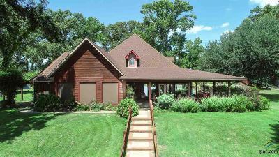 Gilmer Single Family Home For Sale: 5877 Fm 49