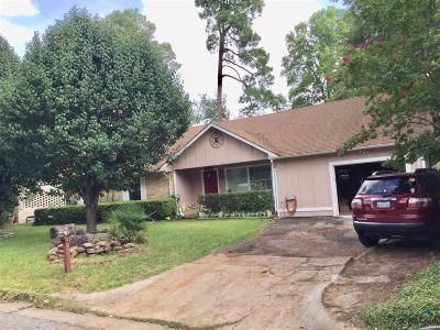 Tyler Single Family Home For Sale: 1409 Rodessa Dr.
