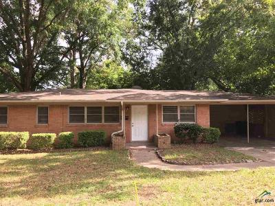 Tyler Single Family Home For Sale: 1409 Waverly St.