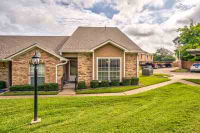 Tyler TX Condo/Townhouse For Sale: $133,000
