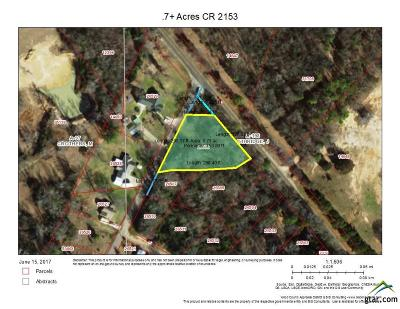 Quitman Residential Lots & Land For Sale: Lot 159 County Road 2153