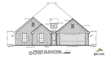 Tyler Single Family Home For Sale: 3001 Salado Creek