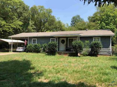 Longview Single Family Home For Sale: 1973 Redmon Road