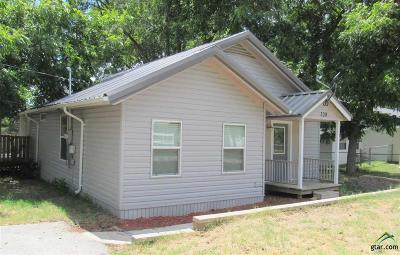 Frankston Single Family Home For Sale: 309 W Ayers St.
