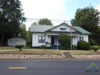 Upshur County Single Family Home For Sale: 745 W Tyler