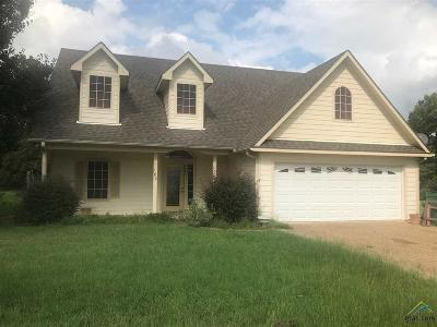 Mineola Single Family Home For Sale: 180 Private Rd 6605 (Mustang Rd)