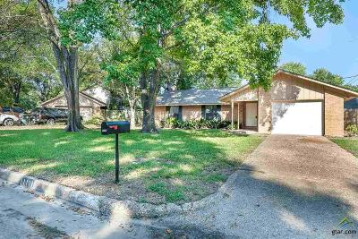 Tyler Single Family Home For Sale: 1111 Foxglove