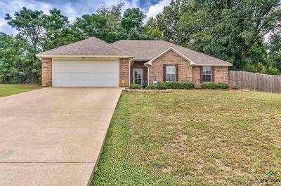 Tyler Single Family Home For Sale: 13645 Marlee Ct
